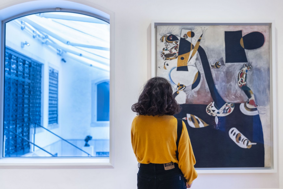 The Peggy Guggenheim Collection can now be visited