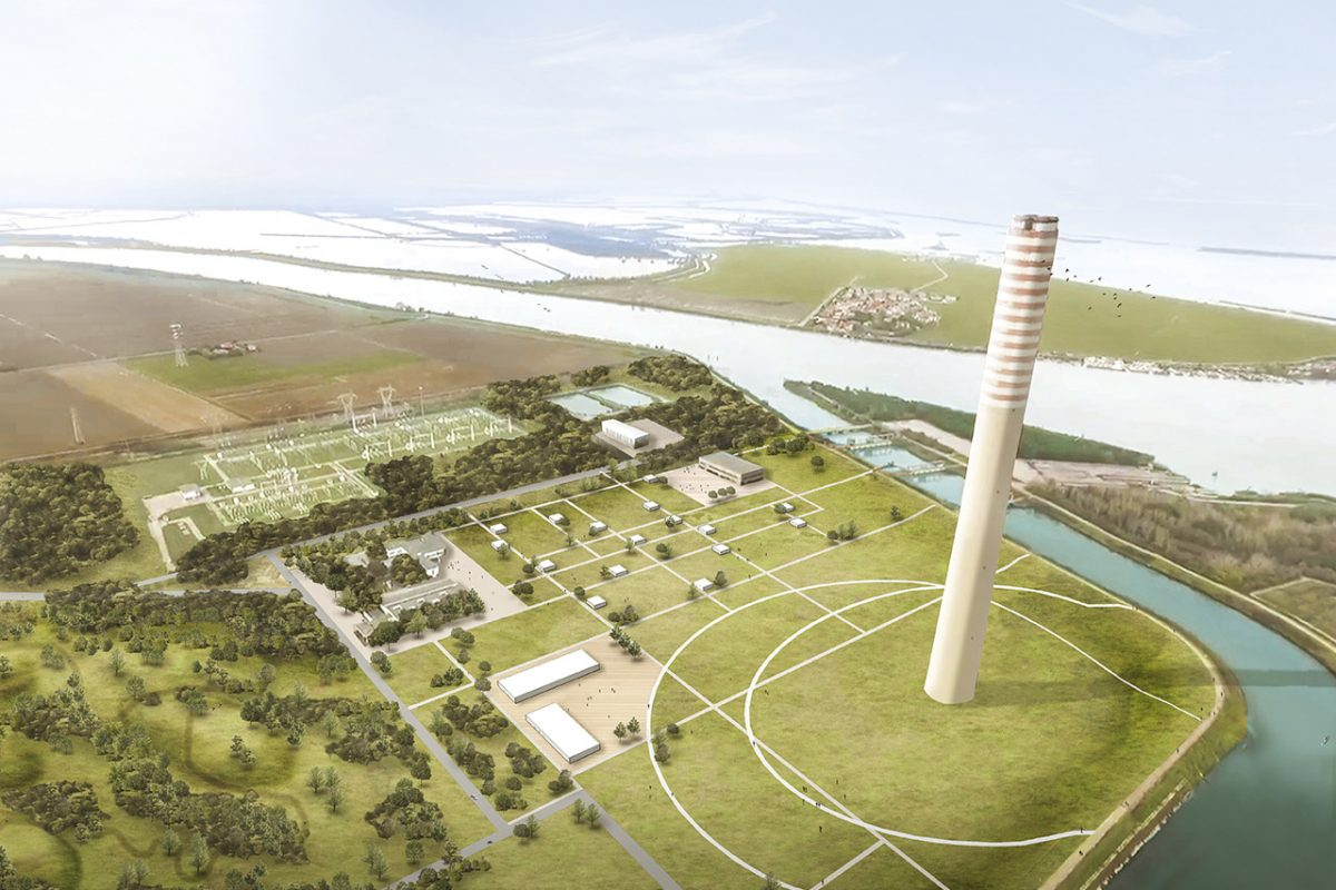 Porto Tolle, from the old Enel power station to the sustainable Delta Farm village