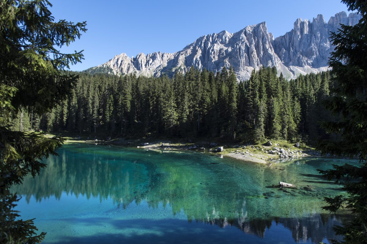 Val d'Ega, summer in the mountains starts in the Dolomites