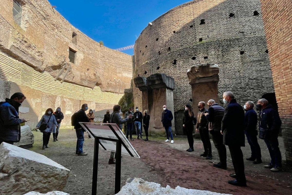 Campidoglio, the Mausoleo di Augusto reopens to the public