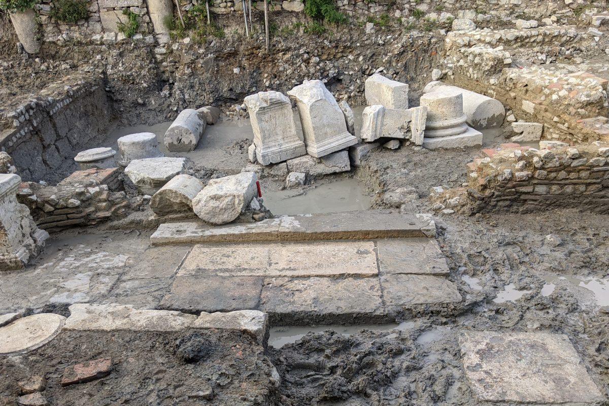Ancient Roman Baths and Sanctuaries emerge in San Casciano dei Bagni