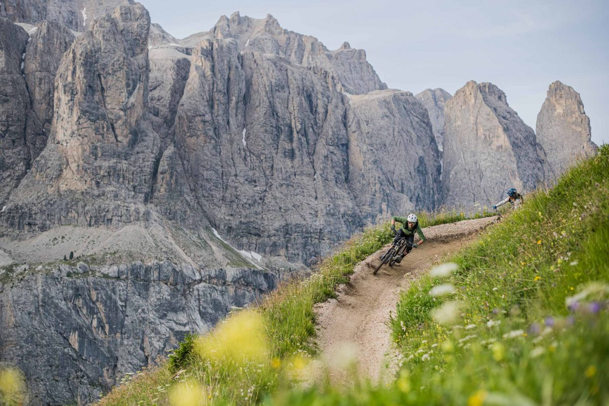 Cycling in the Dolomites on the Hero Trails