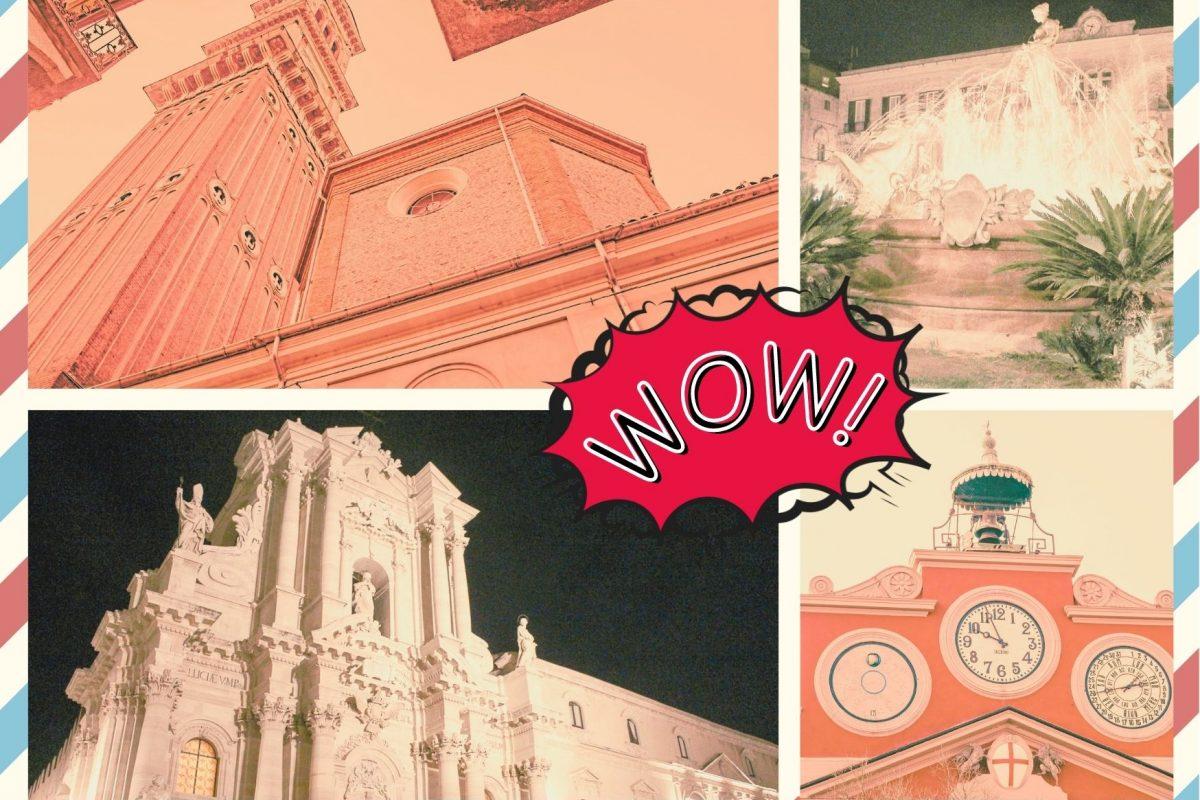 Syracuse & Alessandria, Italy in comics