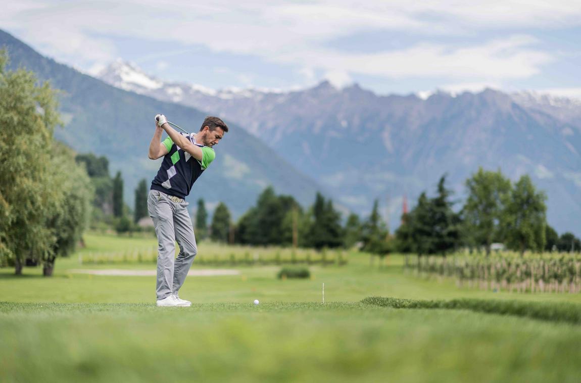 Golfing in Lana