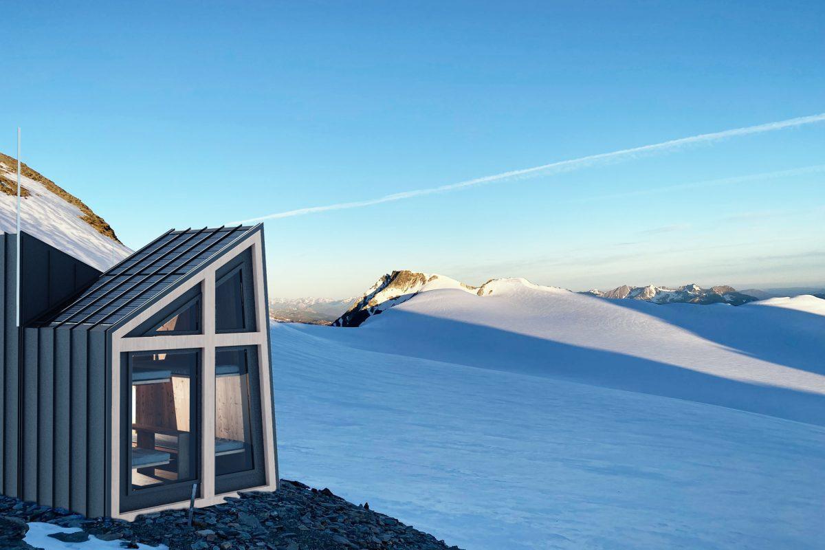 La Thuile, a design bivouac on the Ruitor glacier