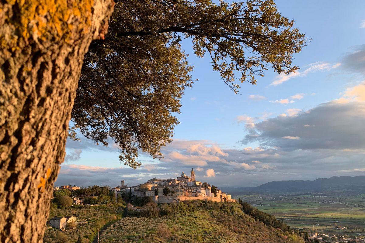 Magical autumn in Umbria